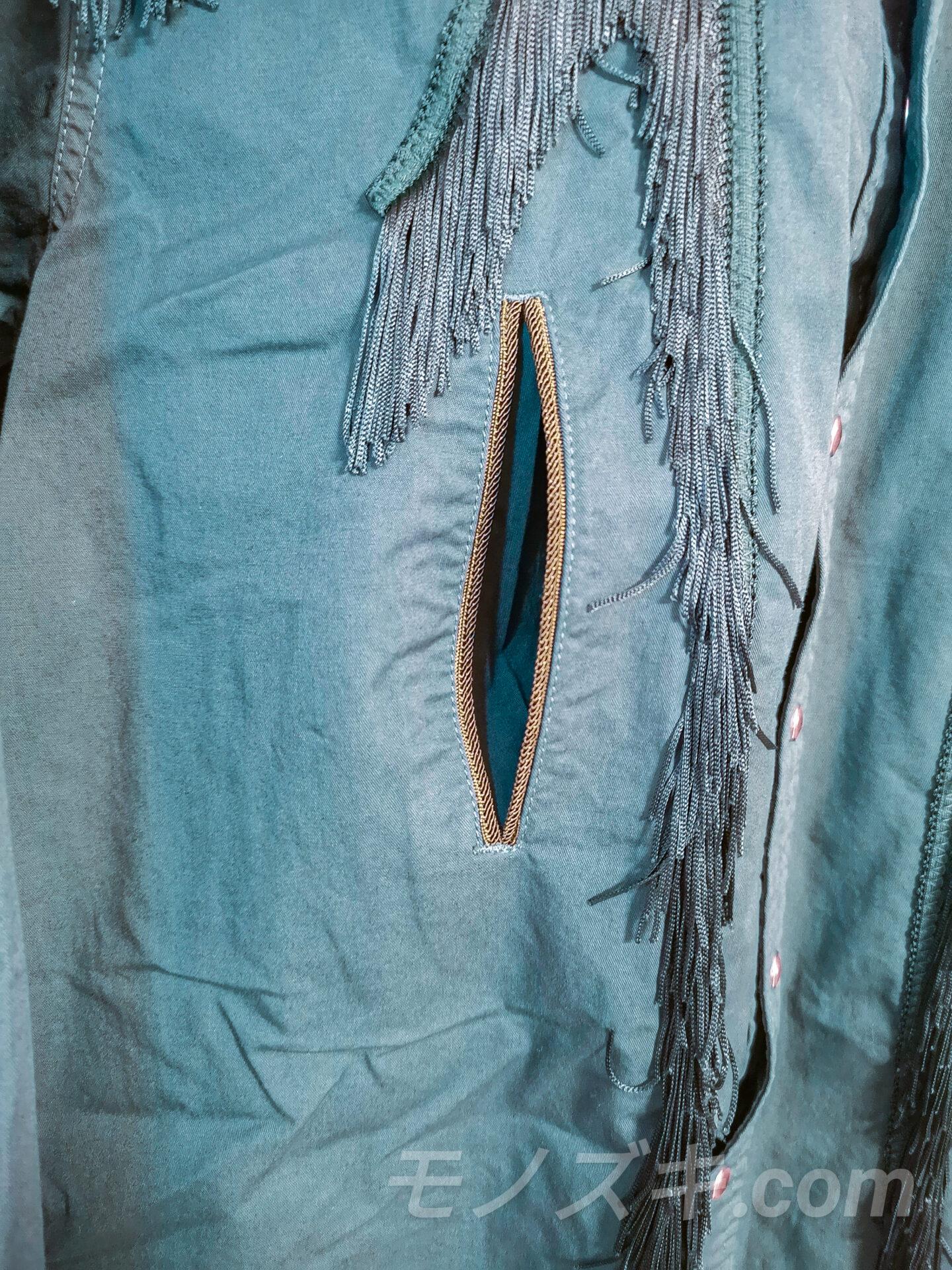 TOGA VIRILIS ウエスタンシャツ 胸元ポケット