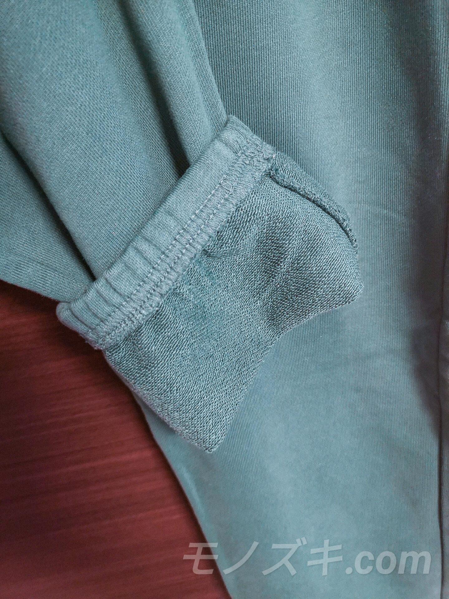 H&M Blank Staples グリーン スウェットパンツ 裏毛