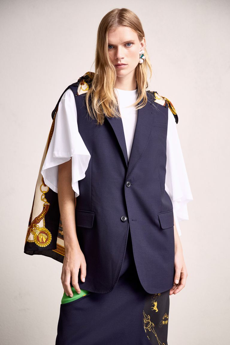 H&M×TOGAコラボ ノースリーブジャケット
