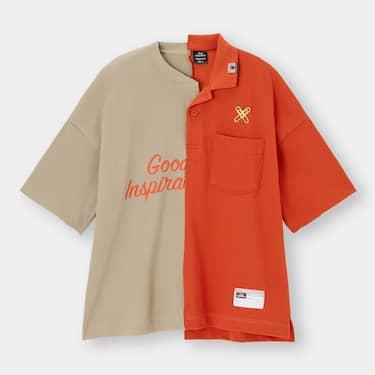 GU×MIHARA YASUHIROコラボ 切り替えシャツ