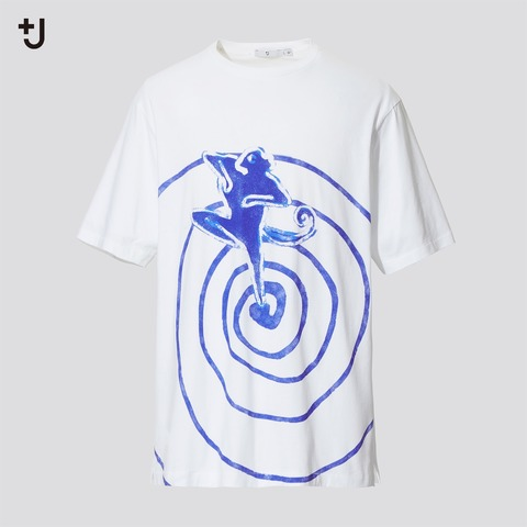 ユニクロ+J 変なプリントTシャツ