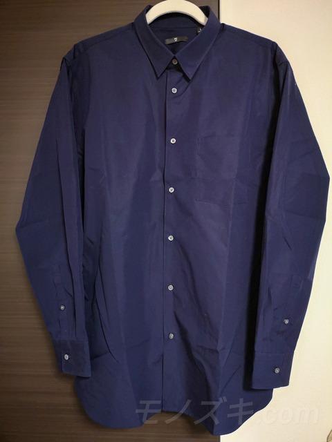 ユニクロ×ジルサンダー「+J」スーピマコットンレギュラーフィットシャツ(隠しボタンダウン)