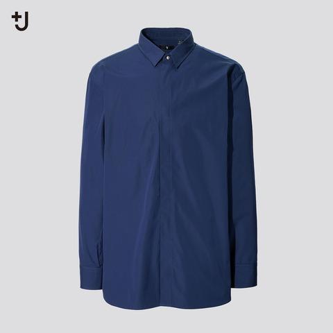 ユニクロ+J スーピマコットンオーバーサイズシャツ ポケット無し