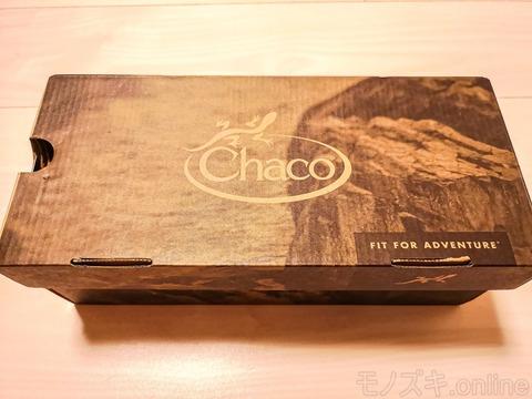 Chaco×glambコラボ Z1_CLASSIC 外装箱