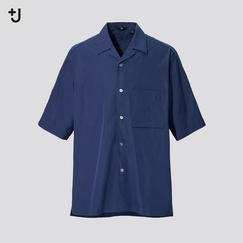 ユニクロ+J 2021SS スーピマコットンオープンカラーシャツ