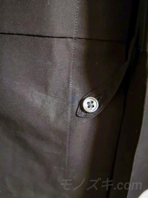 ユニクロ×ジルサンダー「+J」スーピマコットン オーバーサイズシャツ ボタン留めループ