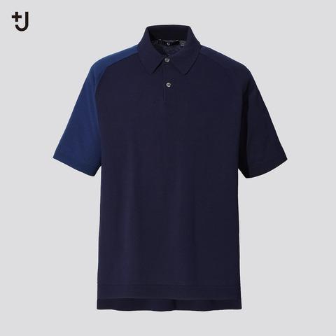 ユニクロ+J シルクコットンニットポロシャツ