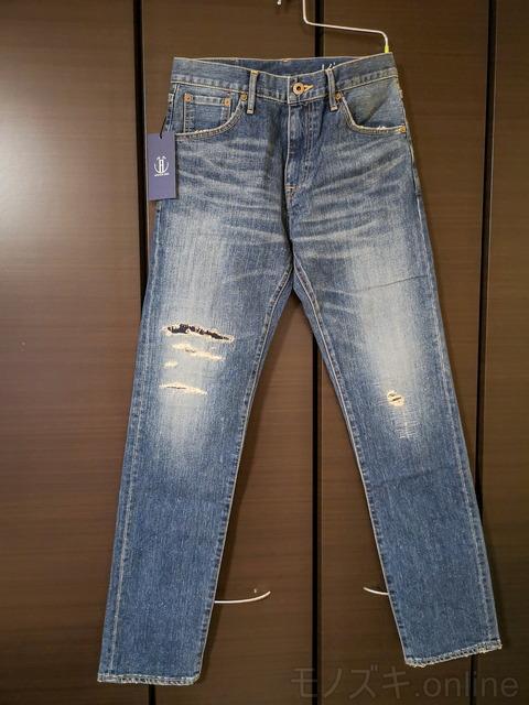 JapanBlueJeans-CALIF-吊るし正面