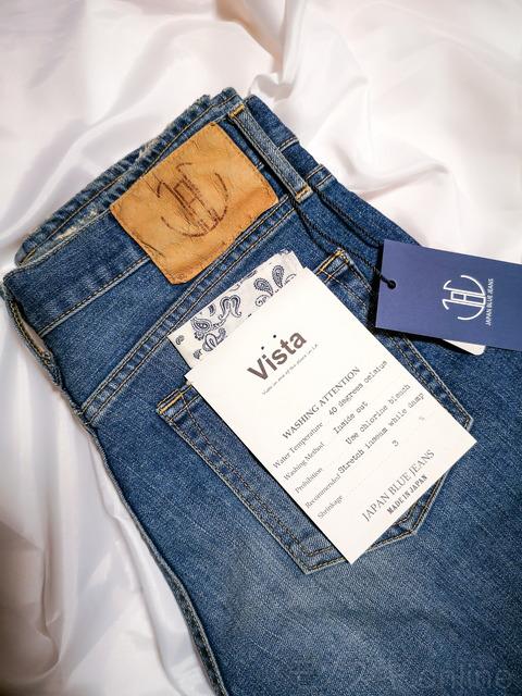 JapanBlueJeans-CALIF-Vistaラベル