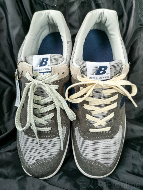 ATHLETIC SHOE LACES 装着後のCT576 正面比較