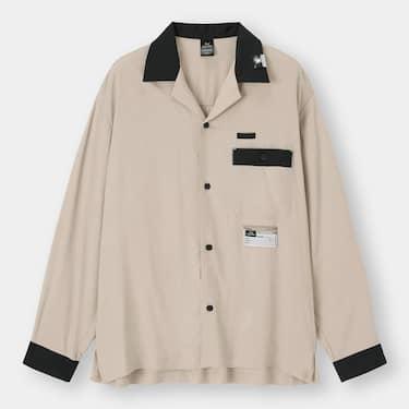 GU MIHARA YASUHIRO ボーリングシャツ